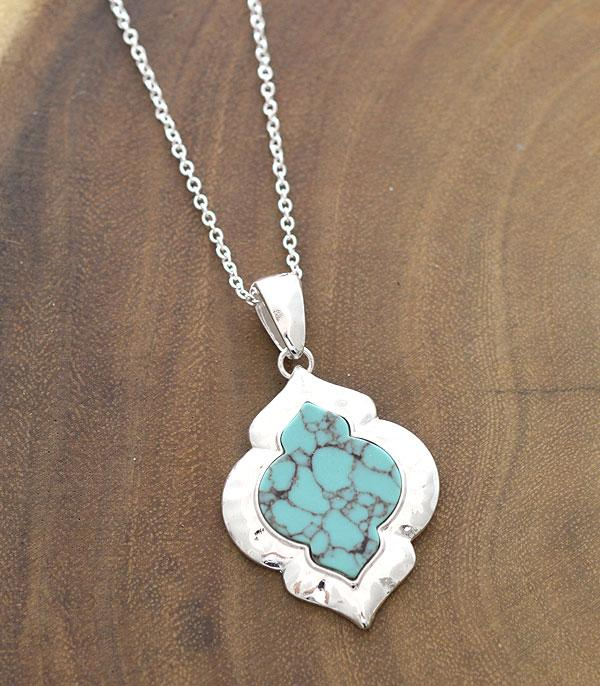New Arrival :: Wholesale Turquoise Pendant Necklace